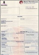 UK work Permit Image